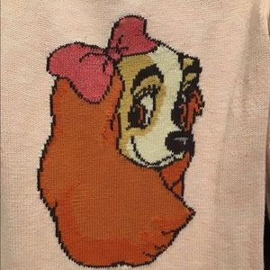 BabyGap Disney Sweater Dress - Lady and the Tramp
